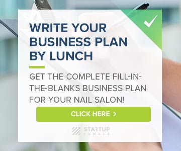 business plan for a nail salon free
