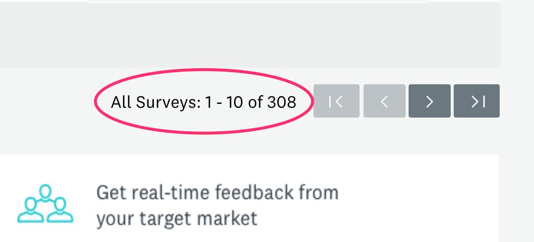 308 surveys