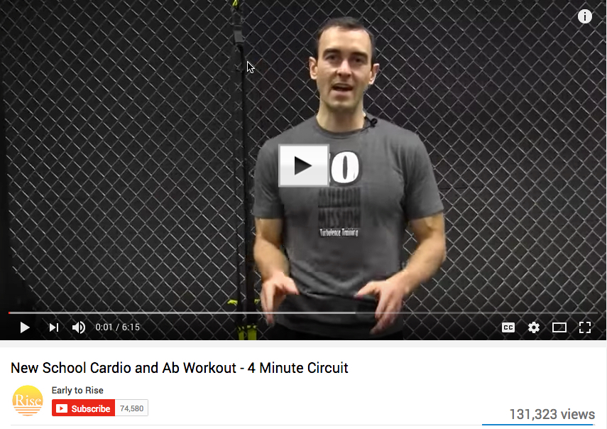 New school cardio   abs youtube