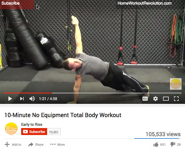 Controversial 10-Minute Workout