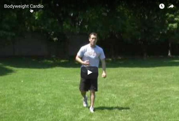 Bodyweight workout ss