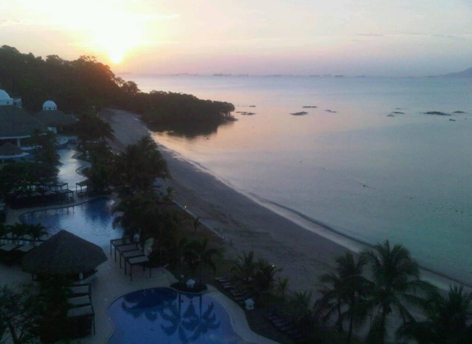 Panama sunrise