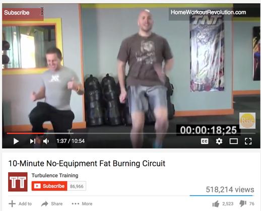 Tt workout