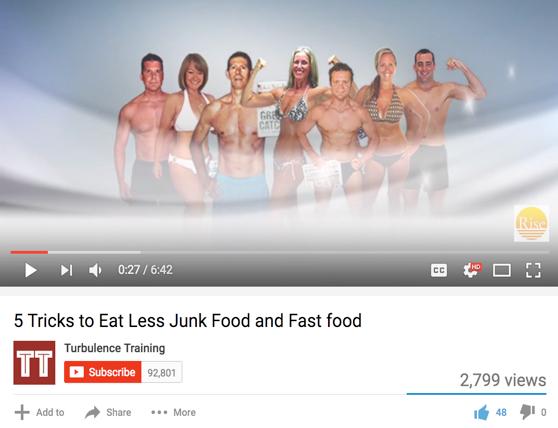 Eat less junk food