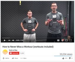 Brian and craig workout