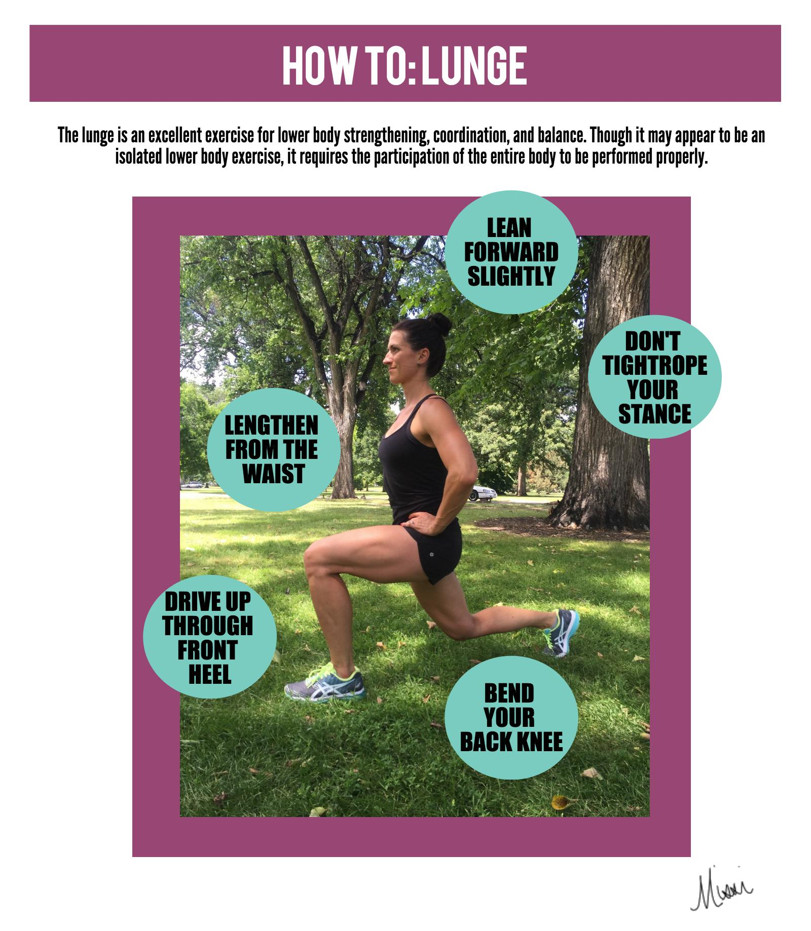 Missi lunge infographic