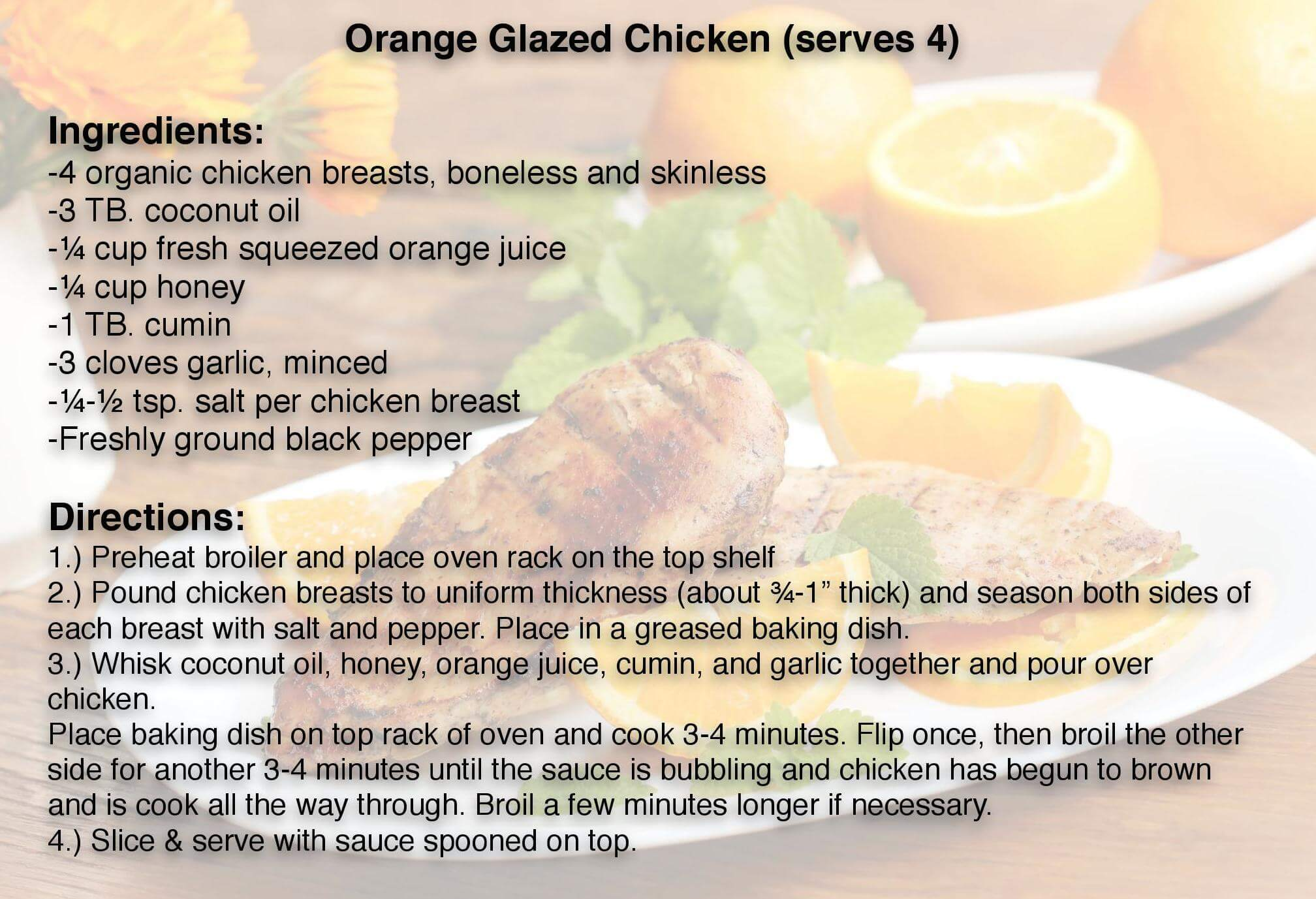 Orange glaze chicken compressedjpg